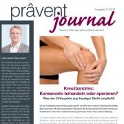 Prävent Journal Titelseite Blog
