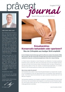 Titelblatt Praevent Journal 1/2018
