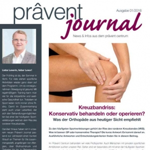 Cover Ausschnitt Praevent Journal 1-2018