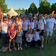 Team Prävent Centrum beim B2Run 2018