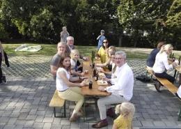 Praxiserweiterung Praevent Centrum Barbecue mit den Mitarbeitern