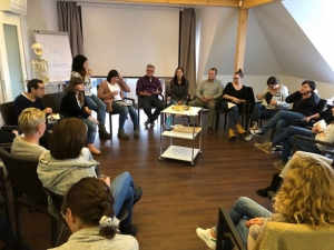 Teamsitzungen Arbeitsgruppen Jahresmeeting Prävent Centrum 2018