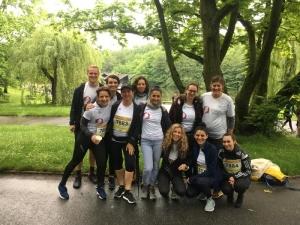 Team des Praevent Centrums beim B2Run 2019 im Westfalenpark Dortmund