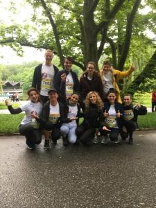 """Prävent rennt"": Team des Prävent Centrums beim B2Run 2019 im Westfalenpark Dortmund"